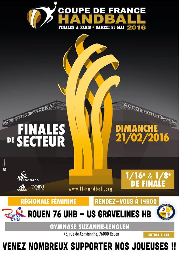 Handball coupe de france 20160221 horizon la radio libre - Handball coupe de france ...
