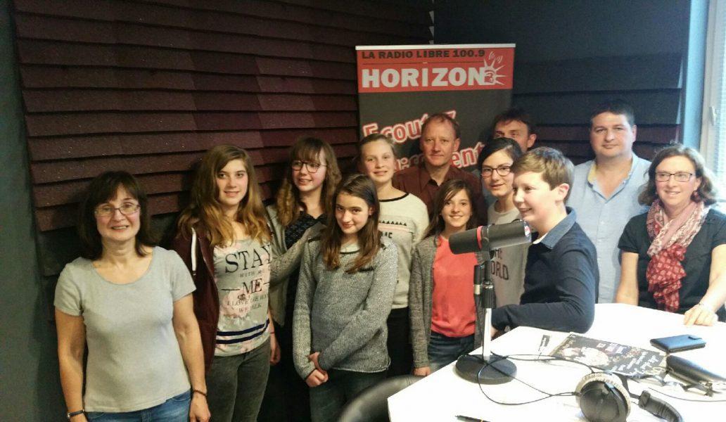 Les élèves du collège Bobée d'Yvetot