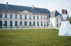 Le salon du mariage à l'Abbaye du Valasse
