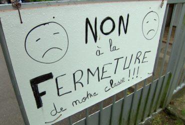 Fermeture de classes Bouville et Fréville