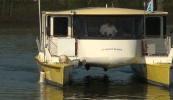 La navette solaire fluviale