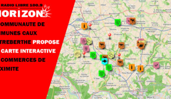 Carte interactive des commerces