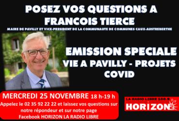 François Tierce vous répond