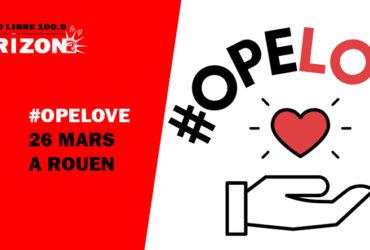 OPELOVE : L'opération solidaire à Rouen