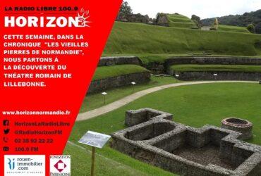 Les vieilles pierres du Théâtre Romain de Lillebonne