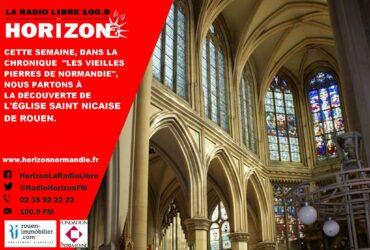 Les vieilles pierres de l'église St Nicaise de Rouen