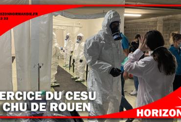 Exercice de la CESU au CHU de Rouen