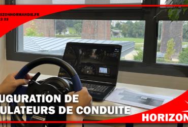 Inauguration de 4 simulateurs de conduite