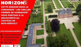 Les vieilles pierres du Château de Bois Héroult