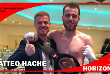 Mattéo Hache champion de France